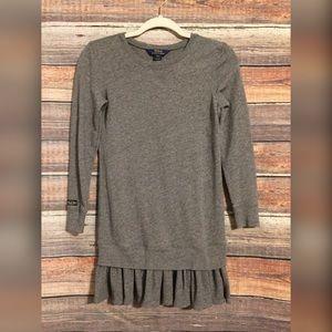 Polo by Ralph Lauren thermal ruffle hem sweater